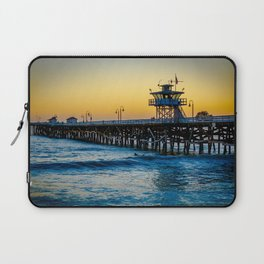 Pier at Days End Laptop Sleeve
