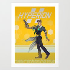 Vanity Marketing Poster Art Print