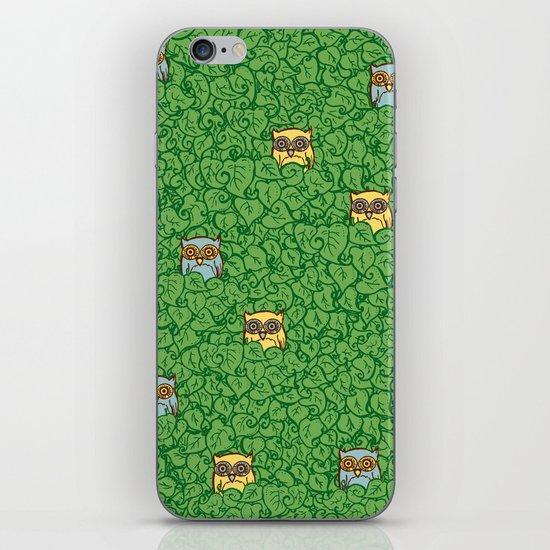 Little Leafy Friends iPhone & iPod Skin