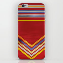 Stripes and Chevrons Ethic Pattern iPhone Skin