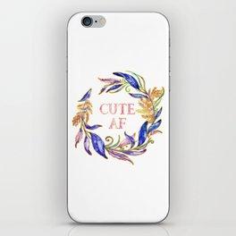 Cute AF iPhone Skin