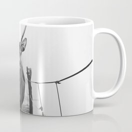 Crossing the bridge Coffee Mug