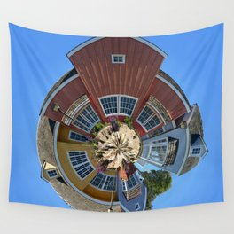 Planet Oxnard Harbor Houses Wall Tapestry