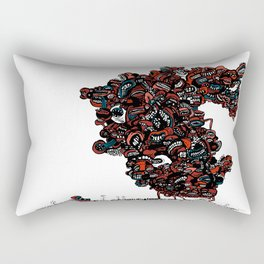 The chattering class  -alt Rectangular Pillow