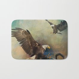 Eagles Are Landing Bath Mat