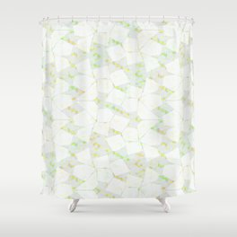 Ghost Town (Citrine) Shower Curtain