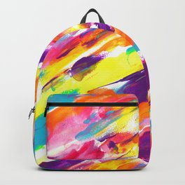 Fruity Pebbles Abstract Backpack