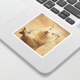 Vintage Animals - Otter Sticker
