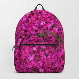 violet flowers Backpack