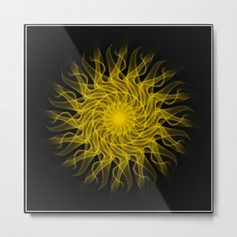 Smoking sun Metal Print