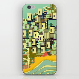 Mediterranean Coast iPhone Skin