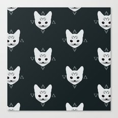 Cats!White Canvas Print