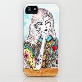 dreamer girl iPhone Case