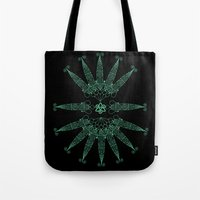 angels Tote Bags featuring Angels by Daniac Design