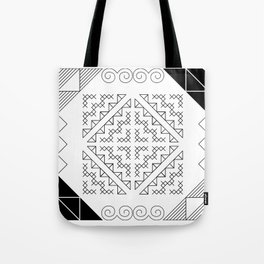 Tribal Hmong Design 2 Tote Bag