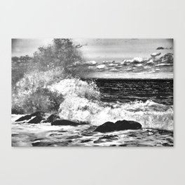 Waves and Spray #9 Canvas Print
