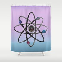 physics Shower Curtains featuring Physics by IvaW