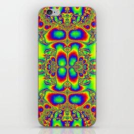 """Psyche"" Super Psychedelic Trippy Fractal Art Print iPhone Skin"