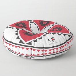 Bulgarian Folklore Inspired Design - KANATITSA Floor Pillow