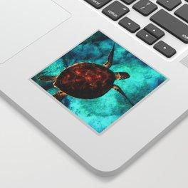 Marine sea fish animal Sticker