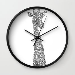 Unique Giraffe Wall Clock