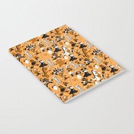 Monster March (Orange) Notebook