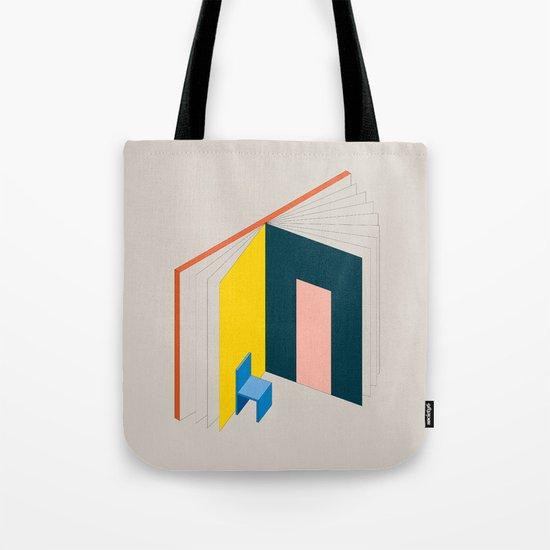 Book Flat Tote Bag