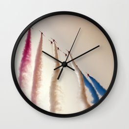 Vanilla sky Wall Clock