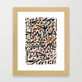 Pattern № 46 Framed Art Print