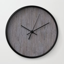 Pale Gray Stone Structure Wall Clock