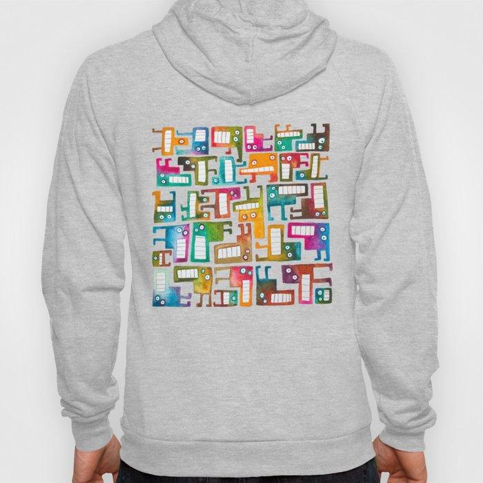 Tetris Monsters Hoody