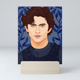 Timothee Chalamet Mini Art Print