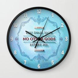 EXODUS 20:3 Wall Clock