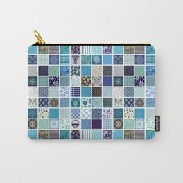 CRAZY QUILT Carry-All Pouch