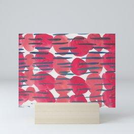 30   | 190408 Red Abstract Watercolour Mini Art Print