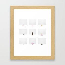 Untitled - Five (Construction Archives, Esthétique) Framed Art Print