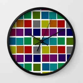 Troll Colors Wall Clock