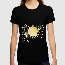 Champagne Bubble Background T-shirt