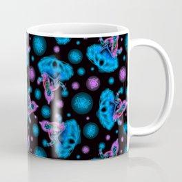 Goddess Lakshmi Neon Signs in Cool Multi Coffee Mug
