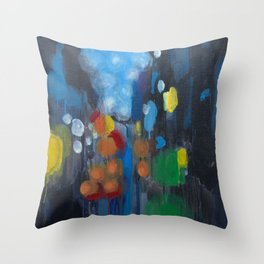 The Streets Throw Pillow