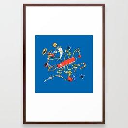 Dr Swiss Framed Art Print