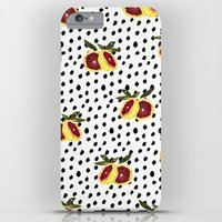 Blood Orange and Dots iPhone 6 Plus Slim Case