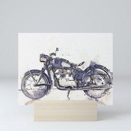 1956 Motorcycles Mini Art Print