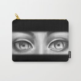 B&W Girl Carry-All Pouch