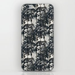 Leaf Shadows on Old Deck iPhone Skin