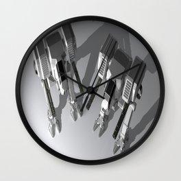 Robots Wall Clock