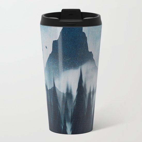 Find your mountain Metal Travel Mug