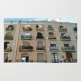 Barcelona Building  Rug