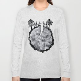 Over the River and Through the Woods Long Sleeve T-shirt