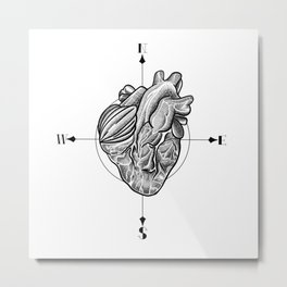 Love is where you are Metal Print